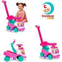 Totoka Plus Andador Infantil De Empurrar Sem Eletrônico Brinquedo Cardoso Toys Menina