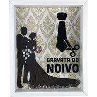 Quadro Cofre Em Madeira Mdf Para Decoração De Parede 20X25 Art Frame