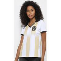 a9a14a2bc0 Netshoes  Camisa Corinthians N° 9 Centenário - Edição Limitada Feminina -  Feminino