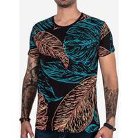 Camiseta Tropical Leafs 102453