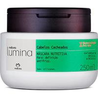 Máscara Nutritiva Cabelos Cacheados Lumina - 250Ml
