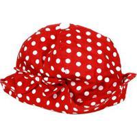 Chapéu Infantil Para Menina - Vermelho