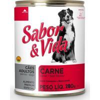 Ração Sabor E Vida Sabor Carne Cães Adultos 280G