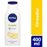 Loção Nivea Firmador Q10 400Ml Para Todos Os Tipos De Pele