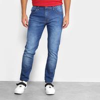 Calça Jeans Skinny Triton Estonada Masculina - Masculino-Jeans