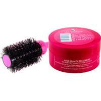 Kit Máscara Hair Growth Treatment 200Ml + Escova Modeladora My Big Fat Silky Smoother