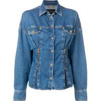 Versace Camisa Jeans - Azul