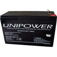 Bateria Selada Para Alarme Nobreak 12V 7.2A Up1272 Unipower