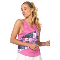 Regata Nike Nk Icnclsh Singlet Rosa