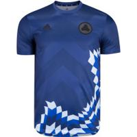 Camisa Tan Advanced Adidas - Masculina - Azul Escuro