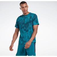 Camiseta Reebok Corrida Mcurta Refletiva Speedwick Masculina - Masculino