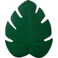 Jogo Americano Folha Costela De Adão Verde