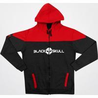 Blusão Black Skull Clothing C/ Capuz - Masculino