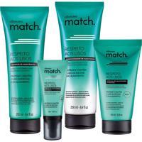 Combo Match Respeito Aos Lisos Manutenção: Shampoo + Condicionador + Máscara + Protetor Térmico
