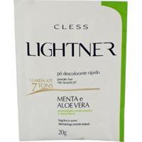 Descolorante Lightner Menta E Aloe Vera Com 20G