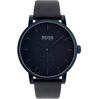 Relógio Hugo Boss Masculino Couro Azul - 1513502