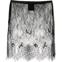 Andrea Bogosian Saia Mini Saki Couture - Preto