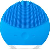 Esponja Facial Massageadora Para Limpeza De Pele Eletrica Azul 2