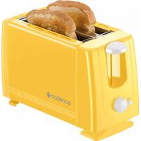 Torradeira Elétrica Cadence Colors Amarelo 750W 127 Volts