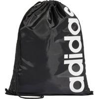 Malas E Mochilas Fitness E Funcional Adidas Gym Bag Linear Core Preto
