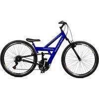 Bicicleta Master Bike Aro 26 Masculina Kanguru Style Rebaixada A-36 Azul