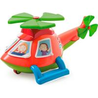 Helicóptero Helico Troca Janelinhas Calesita Laranja