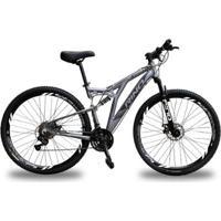 Bicicleta Full Everest 29 Freio Hidraulico - Shimano Acera 27V - Unissex