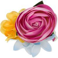 Monnalisa Broche Floral - Rosa
