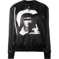 Givenchy Jaqueta Bomber Com Estampa 'Madonna' - Preto