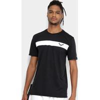 Camiseta Nikecourt Dry Rafa Masculina - Masculino-Preto+Branco