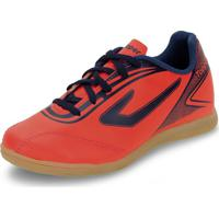 Chuteira Infantil Masculina Indoor Cup Topper - 42013468 Coral 28