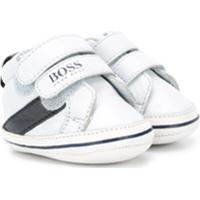 Boss Kids Tênis Cano Baixo Com Velcro - Azul