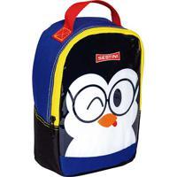 Lancheira Pequena Sestini Basic Pinguim