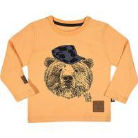Camiseta ''Urso''- Amarela & Azul Escurotip Top
