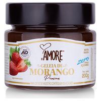 Geleia De Morango Premium Zero 200G - Rb Amoré