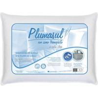 Travesseiro 85% Pena 15% Pluma De Ganso-50X70