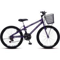 Bicicleta Colli Allegra City Aro 24 Aero 21 Marchas - Unissex