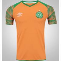 Camisa De Goleiro Da Chapecoense 2017 Umbro - Masculina - Laranja/Verde