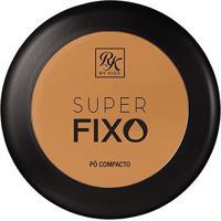 Pó Compacto Rk By Kiss Super Fixo Cor Cappuccino 15G - Feminino-Incolor