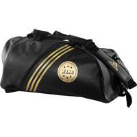 Bolsa Mochila Training 2In1 Bag Wako Preto/Dourado Adidas