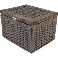 Caixa Organizadora Fibra Sintetica 30X25X20 - Argila