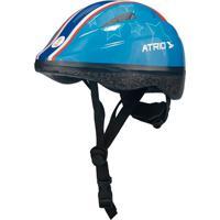Capacete Infantil Atrio Azul Estrela Tamanho Pp Bi040 Bi040