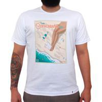 Visite Copacabana 139 Ton - Camiseta Clássica Masculina