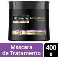 Máscara De Tratamento Tresemmé Reconstrução E Força 400G - Feminino-Incolor