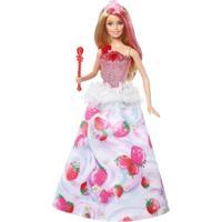 Boneca Barbie - Dreamtopia - Barbie - Princesas Reino Dos Doces - Mattel - Feminino