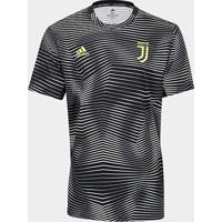 Camisa Juventus Pré-Jogo 19/20 Adidas Masculina - Masculino