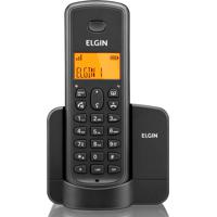 Telefone Sem Fio E Identificador De Chamada - Elgin - Preto