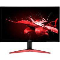 Monitor Gamer Acer Led 23.6´ Full Hd, Hdmi/Displayport, Free Sync, 165Hz, 0.5Ms, Inclinação Ajustável, Preto/Vermelho - Kg241Q Sbiip