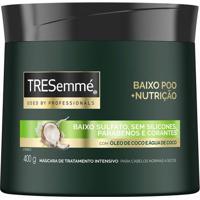 Creme De Tratamento Tresemmé Baixo Poo + Nutrição 400G