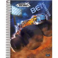 Caderno Espiral Foroni Cross Racing 200 Folhas
